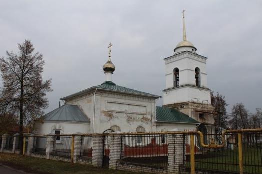Епископ Варнава совершил Божественную литургию в Иоанно-Предтеченском храме города Ворсма