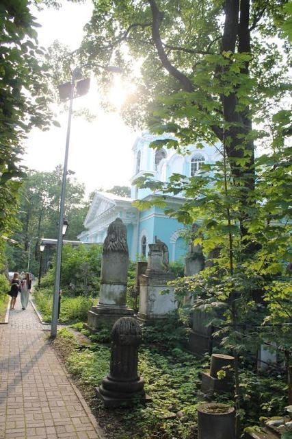 Смоленское Кладбище На Карте Спб